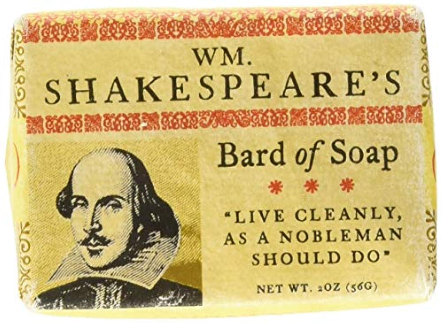 雇用価格エキサイティングWilliam Shakespeare Bath Soap