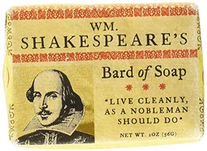 William Shakespeare Bath Soap