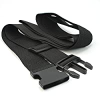 [ReFaXi] スーツケース用 安全ベルト外出旅游 出差 寄行李(黒)