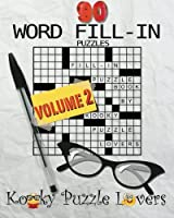 Word Fill-In: 90 Puzzles