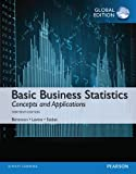 Cover of Basic Business Statistics, Global Edition