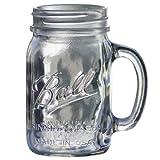 BALL メイソンジャー [ ドリンキングマグ 480ml クリア ] Mason jar DRINKING MUG 正規品の写真