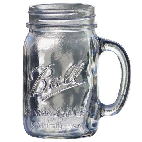RoomClip商品情報 - BALL メイソンジャー [ ドリンキングマグ 480ml クリア ] Mason jar DRINKING MUG 正規品