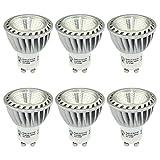 SGL LED 電球 GU10口金 LEDスポットライト 省エネ90% 6W、2700K 電球色 480LM 埋め込み式照明 85-265V 「6個入」 長寿命
