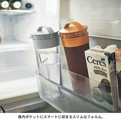 お湯出しもできる冷水筒1.1リットル[日本製] マスタード