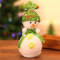 Ungfu Mall 可愛い 雪だるま ボックス   おもちゃ クリスマス パーティー ホーム クリスマス 装飾