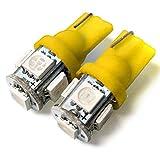 サンバー TV TV TW led ポジションランプ ナンバー灯 T10 T16 アンバー 2個セット led5連 拡散