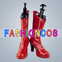 ★サイズ選択可★男性25.5CM UC163 ヴァンパイア セイヴァー リリス Lilith コスプレ靴 ブーツ