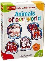 Ranok Ranok15160173〜22 x 17 x 5 cm私たちの世界の動物たちマグネット