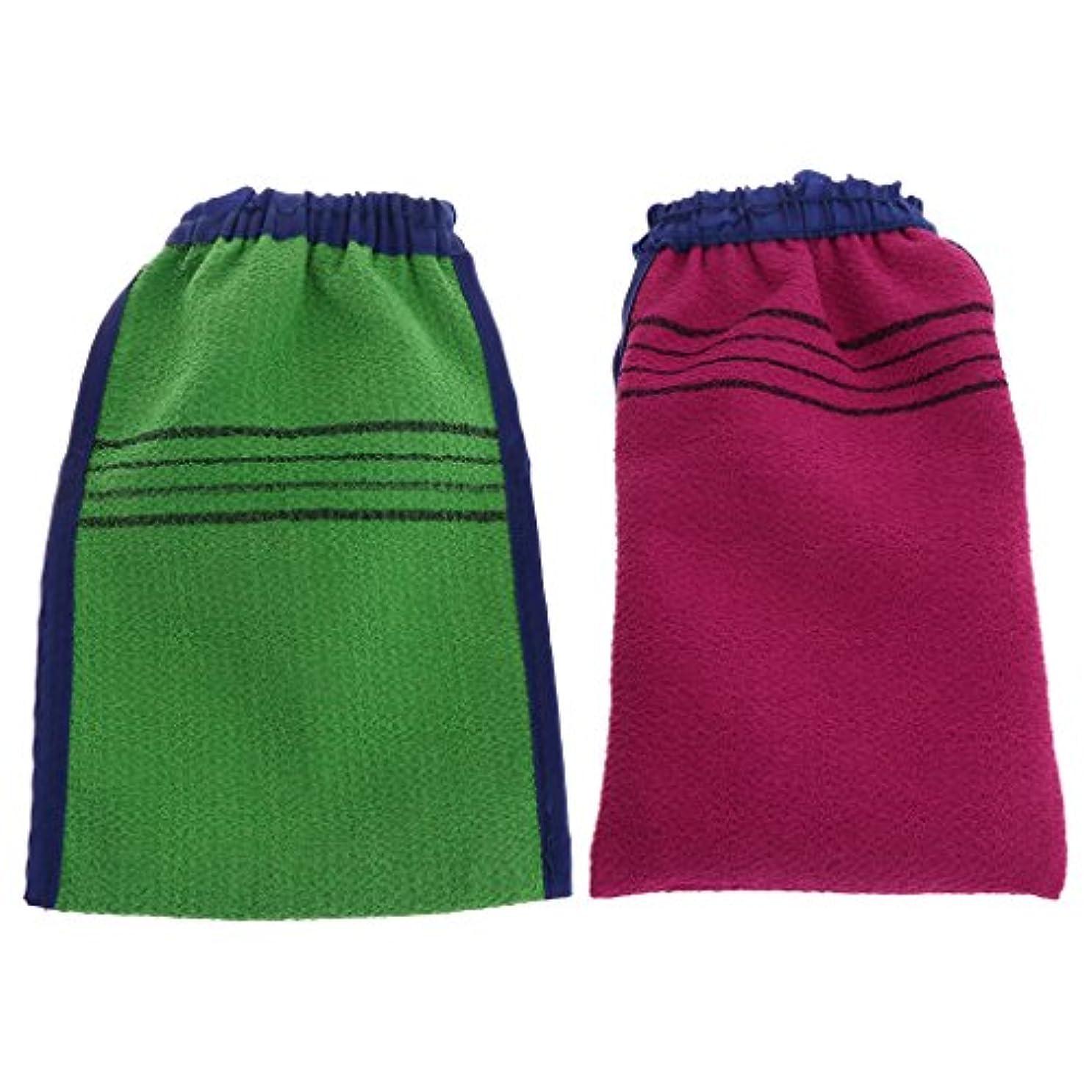 ユーザービル珍しいより青い剥離手袋バス手袋スパマッサージミットスクラブミットマジックピーリンググローブタン除去ミット