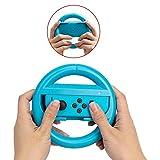 niceeshop ( TM ) Nintendoスイッチステアリングホイールコントローラ、joy-conホイールfor Nintendoスイッチ ブルー 6025779658980