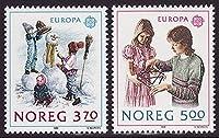 北欧 ノルウェー切手 1989年 子供