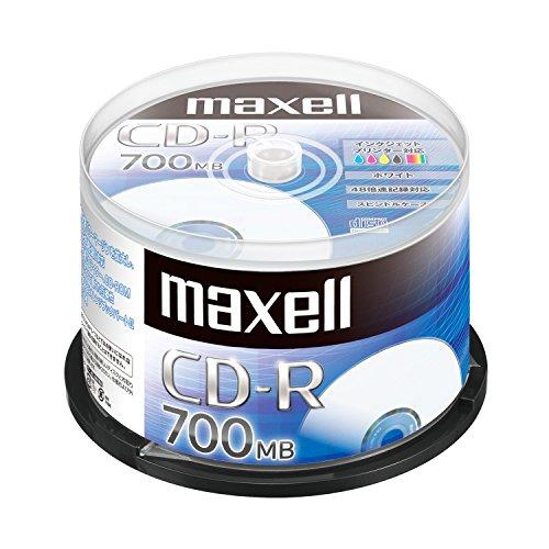 maxell データ用 (1回記録用) CD-R 700MB...