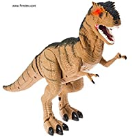 [Prextex]Prextex Battery Powered Walking Dinosaur Toy That Roars And Shakes While Eyes Are Blinking PR-BOD8993 [並行輸入品]