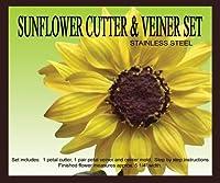Sunflower Cutter Set by PETAL CRAFTS