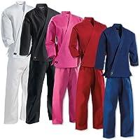 軽量学生Karate Uniformブラック – 0