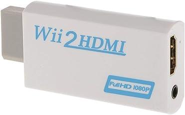 DUOLEI HDMIコンバーター WiitoHDMI変換アダプタ WiiをHDMI接続に変換 HDMIケーブル付属