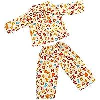 ノーブランド品  パジャマ 衣装  18インチアメリカンガールドール用 11種類選べる - 01
