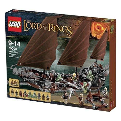 レゴ (LEGO) ロード・オブ・ザ・リング 海賊船アンブッシュ 79008