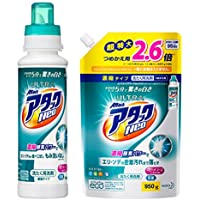 【まとめ買い】ウルトラアタックNeo 洗濯洗剤 濃縮液体 本体 400g+詰め替え950g