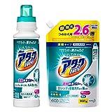 【まとめ買い】ウルトラアタックNeo 洗濯洗剤 濃縮液体 本体 400g+詰替用 950g