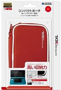 任天堂公式ライセンス商品 コンパクトポーチ for ニンテンドー3DS レッド