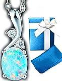 オパール [ラ・ベル・フルール] La Belle Fleur 10月誕生石 オパール 高品質CZダイヤモンド 4月誕生石 バレンタイン ホワイトデー プレ..