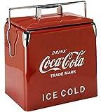 コカコーラ(Coca Cola) 収納ケース・ボックス 赤 40×38×28cm 0010068-0001