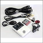 三線・三味線用プリアンプ 2 Way マイクシステム:ピックアップ・コンタクトマイク