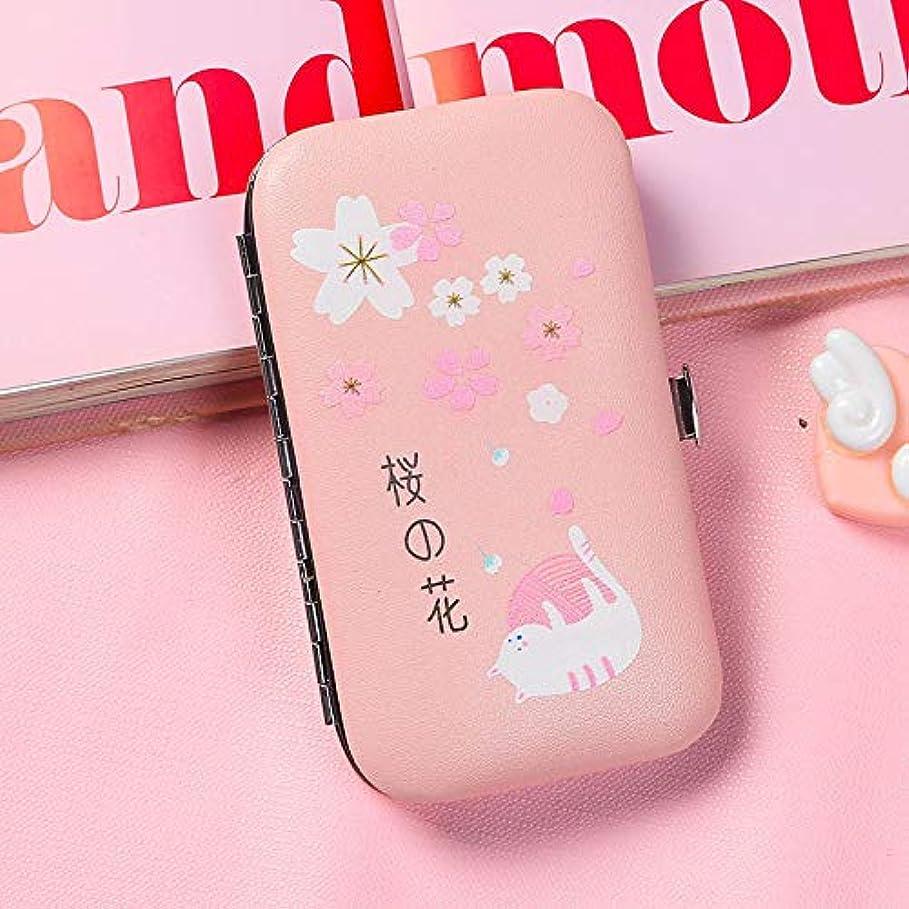 知覚下品たくさんの新鮮な爪の創造的な小さなはさみ6ピースセット大人の学生のための爪ツール女の子のためのピンクの爪カッター