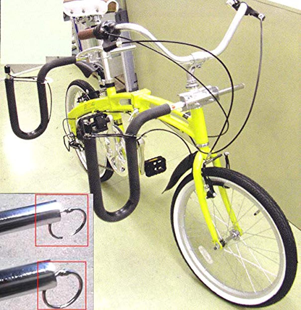 バージン強度グラディスあの定番キャリアに鍵がつきました!CAP(キャップ) 自転車用サーフボードキャリアセット
