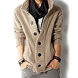 BURBERRY 帽子 4 色 メンズ カーディガン セーター ニット ジャケット カジュアル おしゃれ 防寒 ビジネス  ( 4 サイズ )