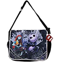 Disney Tim Burton's the Nightmare Before Christmas Large Messenger Bag