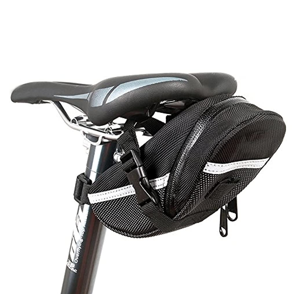 なぜなら労働者オデュッセウスKBAYBO 自転車バッグ サドルバッグ サイクリングバッグ ストラップ式 防水 アウトドア 大容量 便利