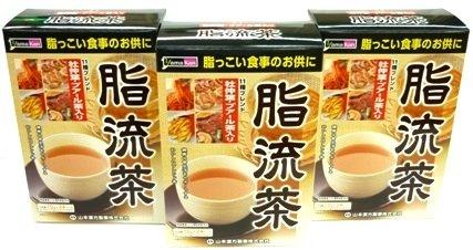 <お得な3個パック>山本漢方 脂流茶 10g×24包入り×3個