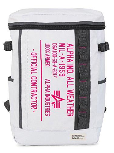(アルファ インダストリーズ) ALPHA INDUSTRIES リュック 40056 CPシリーズ 【75】ホワイト×ピンク