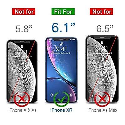 iPhone XR Screen Protector, Premium Tempered Glass Film Screen Protector for iPhone 6.1 Inch XR 2018, 3 Pack