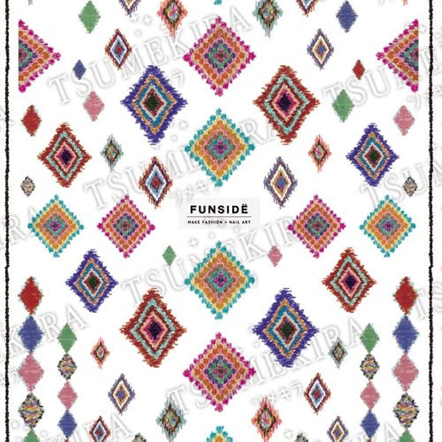 オッズ竜巻ターミナルTSUMEKIRA(ツメキラ) ネイルシール es FUNSIDEプロデュース Azilal tribe ES-FNS-102