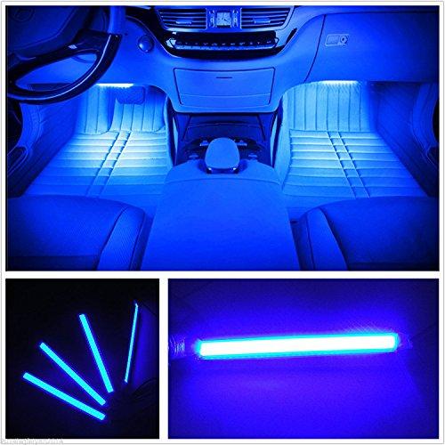 カー内部LED装飾ライト シングルカラーモード 36ランプビ...