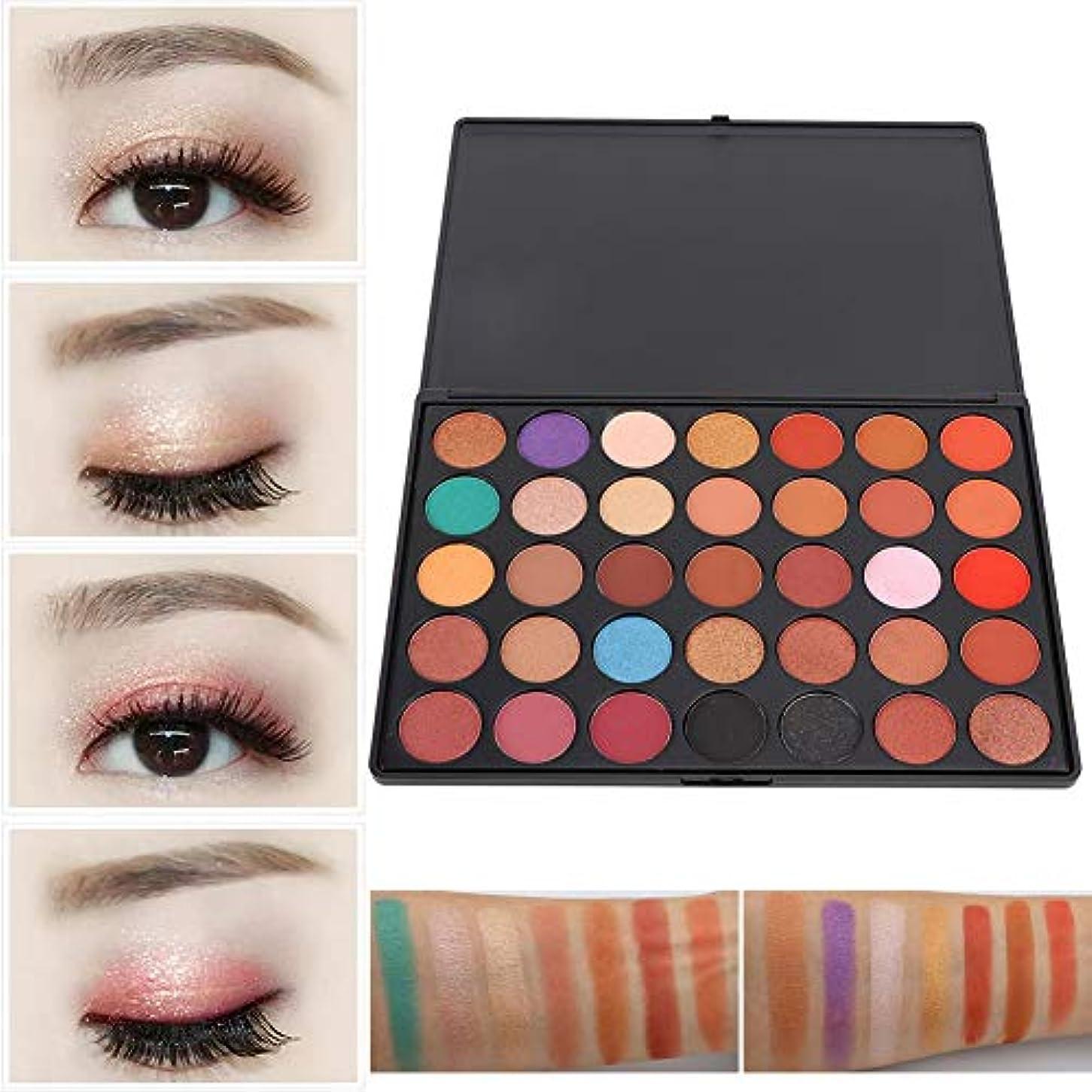 アイシャドウパレット 36色 化粧品ツール アイシャドウパレット 化粧マット グロス アイシャドウパウダー