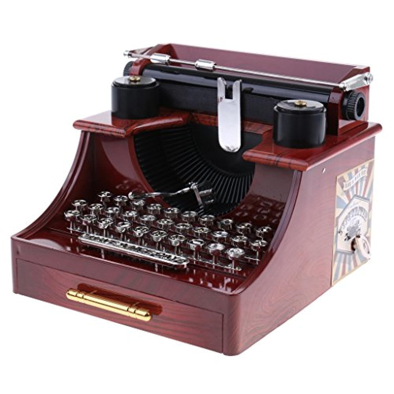 Blesiya プラスチック デスクトップ 寝室 装飾 誕生日 プレゼント 時計仕掛け 音楽ボックス オルゴール