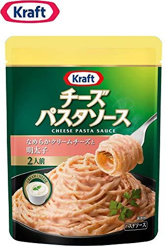クラフト (Kraft) チーズパスタソース なめらかクリームチーズと明太子×3袋