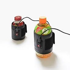 3段階温度調整できる!「ペットボトルあったかバンド」 USBWARSLV ※日本語マニュアル付き  サンコーレアモノショップ