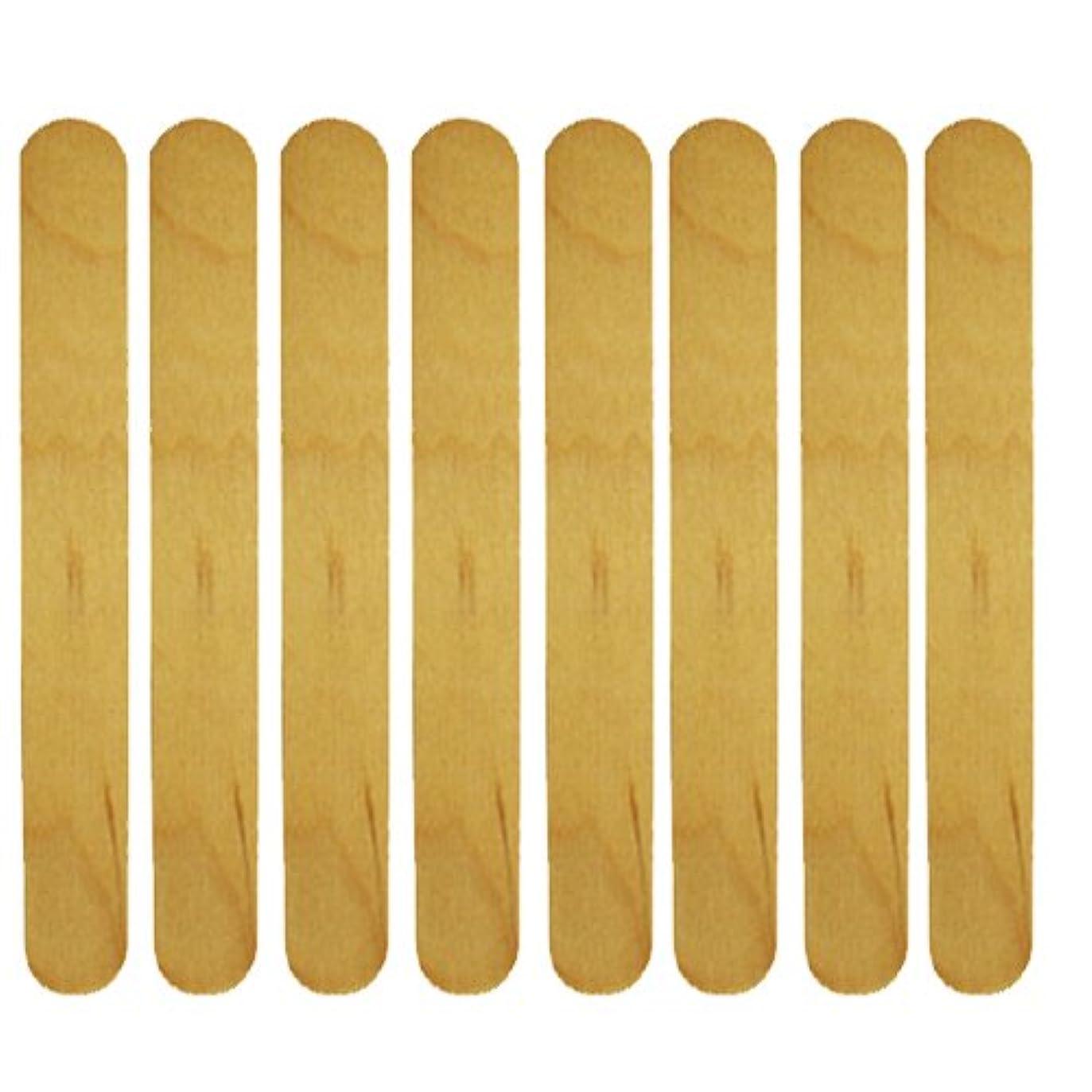 マイコン一貫性のない揃える使い捨て【木ベラ/ウッドスパチュラ】 業務用8枚セット
