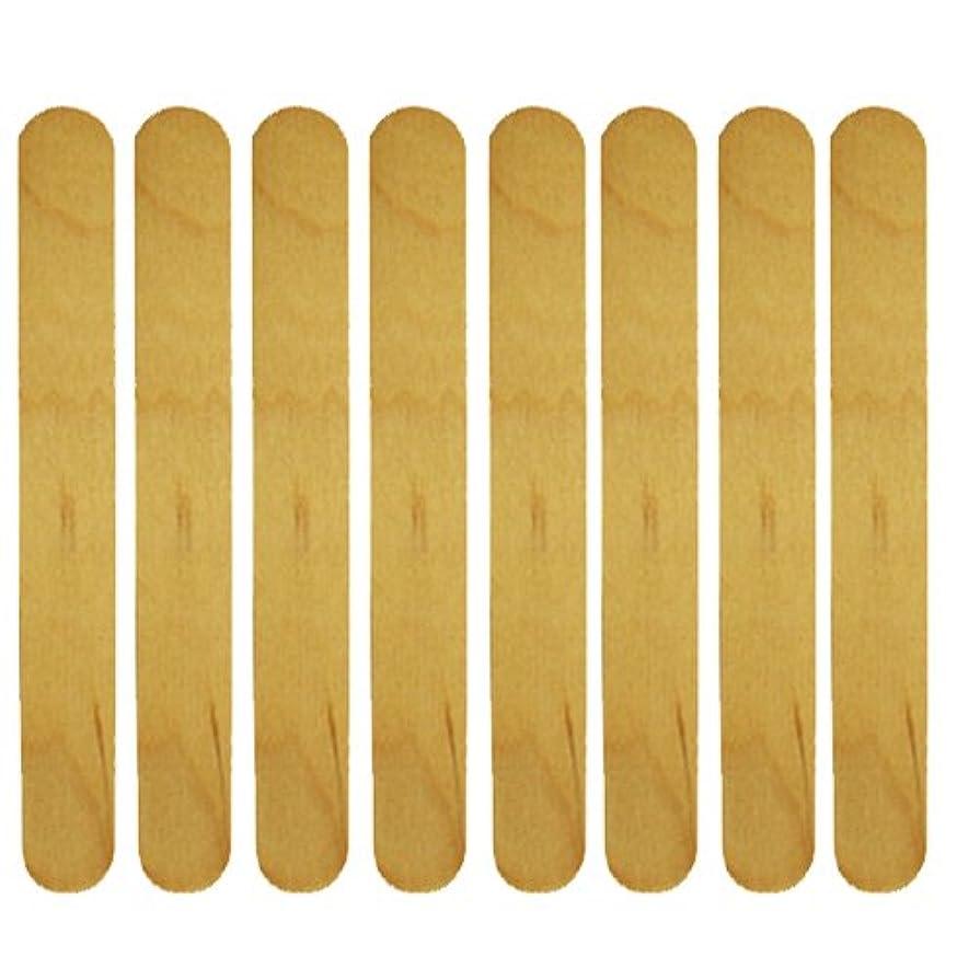 動く一致デイジー使い捨て【木ベラ/ウッドスパチュラ】 業務用8枚セット