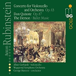 Don Quixote Op 87 / Ballet Music From Demon