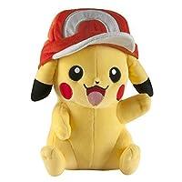 Pok?mon Large Pikachu with Ash's Hat Plush 【You&Me】 [並行輸入品]