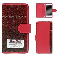 whitenuts Galaxy S7 edge SC-02H ケース 手帳型 ハリスツイード No.11 スマホケース ギャラクシー エスセブン エッジ 手帳 カバー 全機種対応 WN-OD361638_L