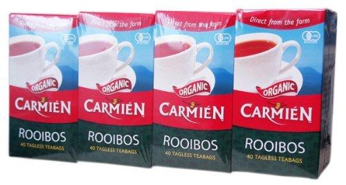 RoomClip商品情報 - CARMIEN(カーミエン)オーガニック ルイボスティー ティーパック40袋入(100g)×4箱 JAN6009623190215