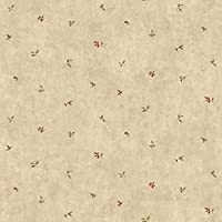 York Wallcoverings LG1376 Leaf Toss Wallpaper%カンマ% Reds